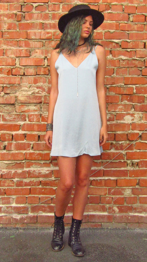 Baby Pastel Strappy Dress