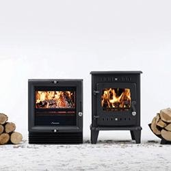 The arrival of Worcester's Bosch multi-fuel stove range- The Hanbury and The Bewdley