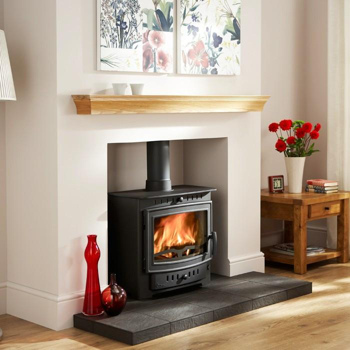 Arada Villager Esprit 8 Solo Multi fuel Stove - Stoves World Ltd