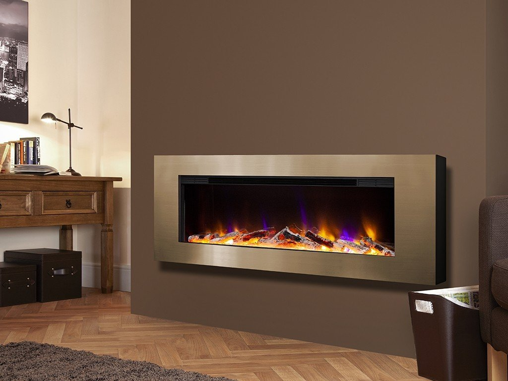Celsi Electriflame VR Basilica - Wall Mounted Electric Fire - Stoves World Ltd