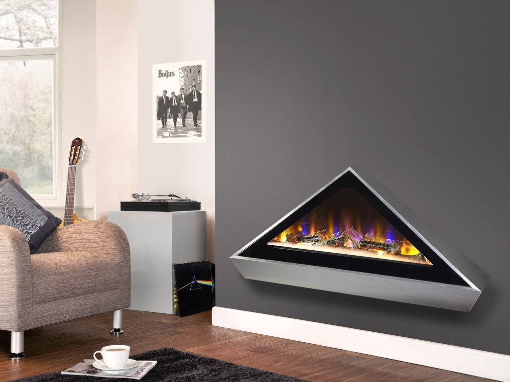 Celsi Electriflame VR Louvre - Wall Mounted Electric Fire - Stoves World Ltd