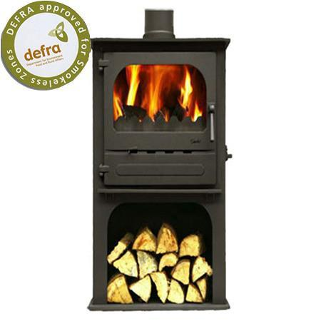 Dunsley Highlander 5 Enviroburn Log Store Multi Fuel / Wood Burning Stove - Stoves World Ltd