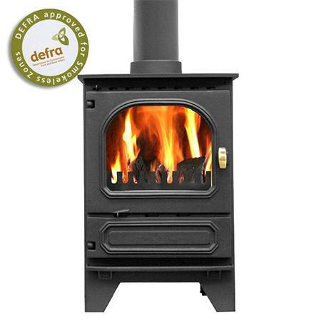 Dunsley Highlander 5 Enviroburn Multi Fuel / Wood Burning Stove - Stoves World Ltd