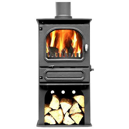 Dunsley Highlander 5 Log Store Multi Fuel / Wood Burning Stove - Stoves World Ltd