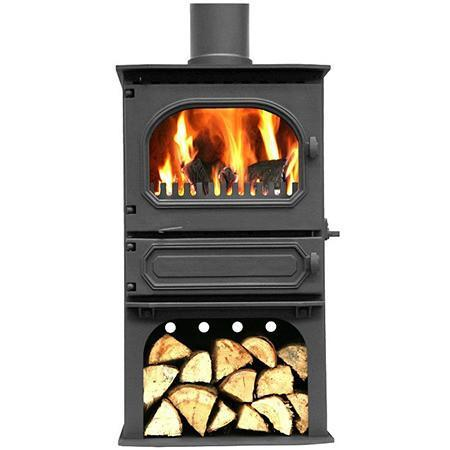 Dunsley Highlander 7 Log Store Multi Fuel / Wood Burning Stove - Stoves World Ltd