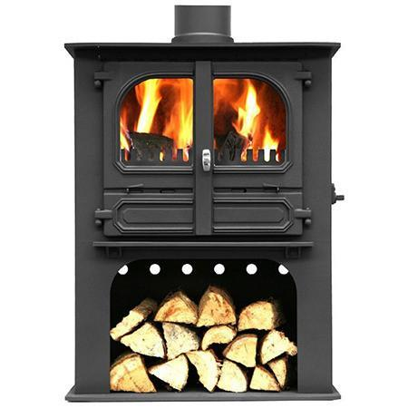 Dunsley Highlander 8 Log Store Multi Fuel / Wood Burning Stove - Stoves World Ltd