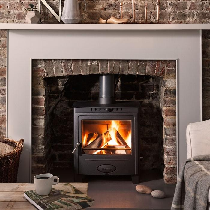 Hamlet Solution 5 Widescreen Defra Approved Multi Fuel Stove - Stoves World Ltd
