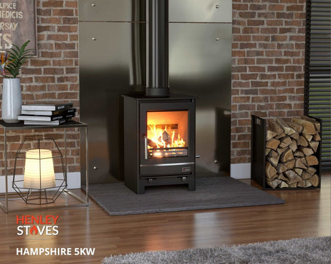 Invicta Altara ductable cast-iron stove