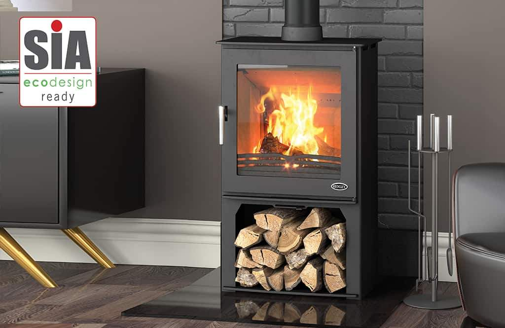 Henley Dalewood 5kW with Logbox - Stoves World Ltd