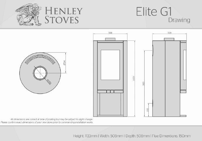 Henley Elite G1 5KW - Stoves World Ltd