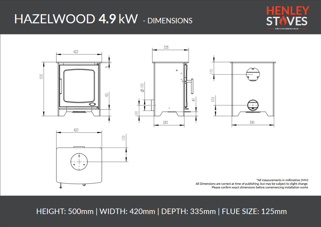 Henley Hazelwood Compact - Stoves World Ltd