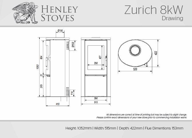 Henley Zurich - Stoves World Ltd