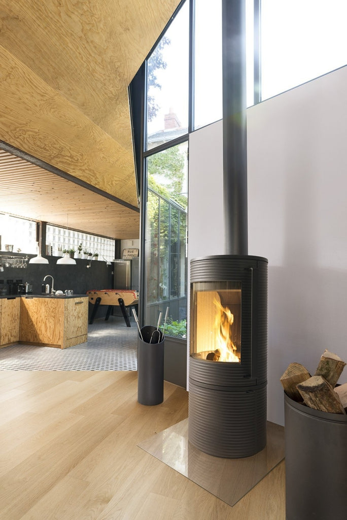 Invicta Altara ductable cast-iron stove - Stoves World Ltd