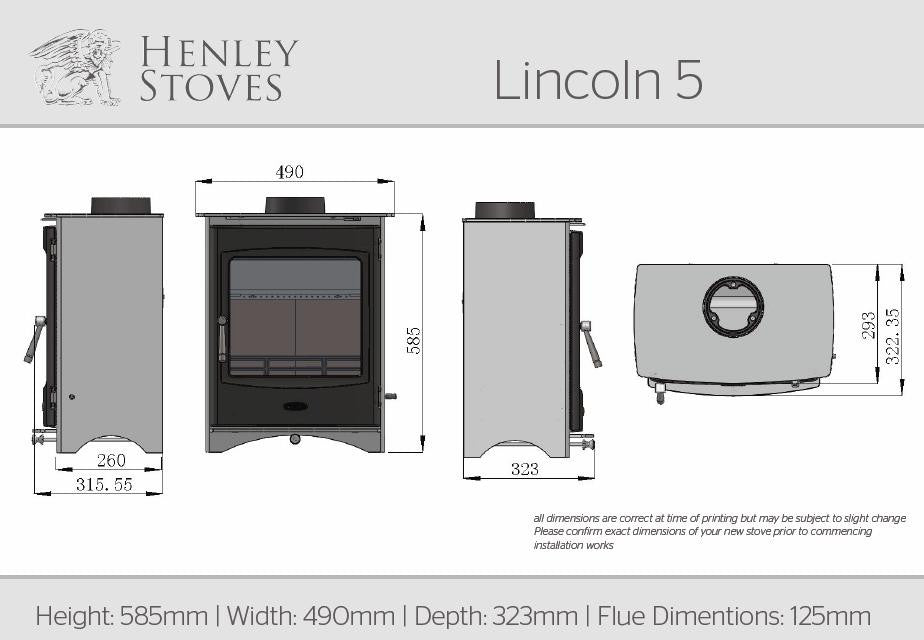 Henley Lincoln 5 - Stoves World