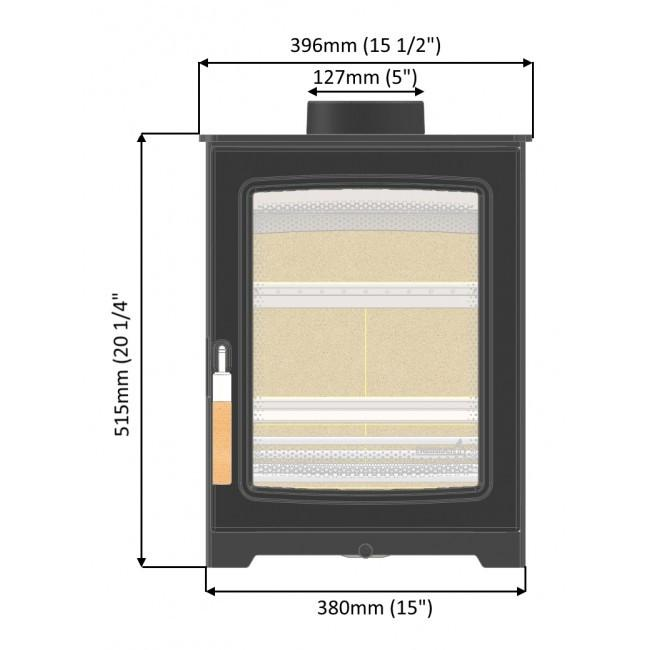 PARKRAY ASPECT 4 COMPACT - CALL US 02921 152171 - FREE DELIVERY - Stoves World Ltd