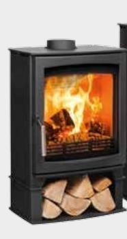 Parkray Aspect 7 Wood burning Stove - - Stoves World Ltd