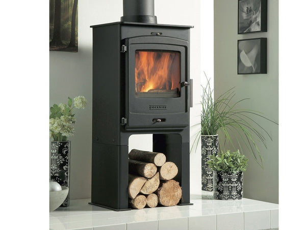 Portway 1 Contemporary Multifuel Stove - Stoves World Ltd