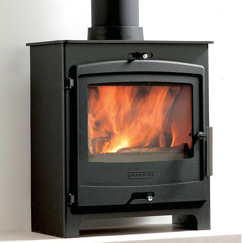 Portway 2 Contemporary Multifuel Stove - Stoves World Ltd