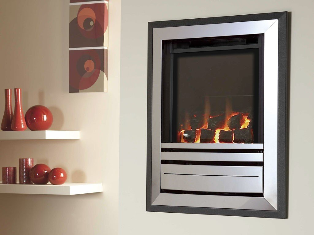 Verine Frontier HE Gas Fire Manual Control - Stoves World Ltd