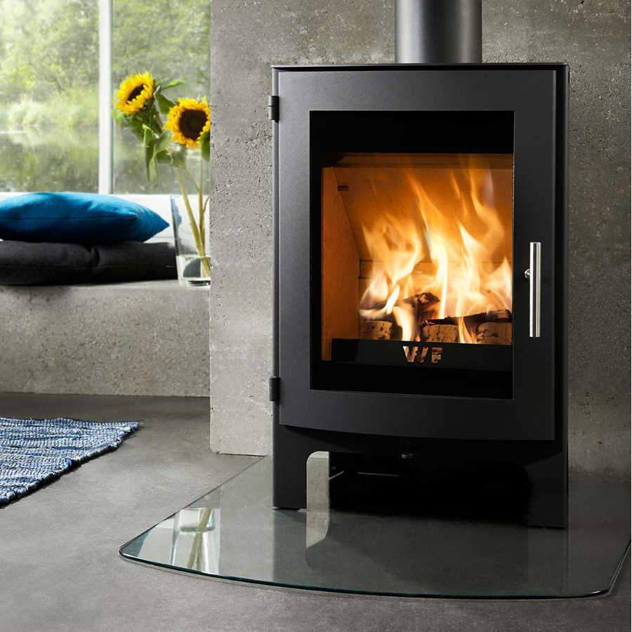 Westfire Uniq 17 Woodburning Stove Retail Price £1234 Now £990 - Stoves World Ltd
