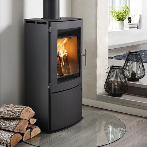 Westfire Uniq 23 Side Glass 100mm Legs