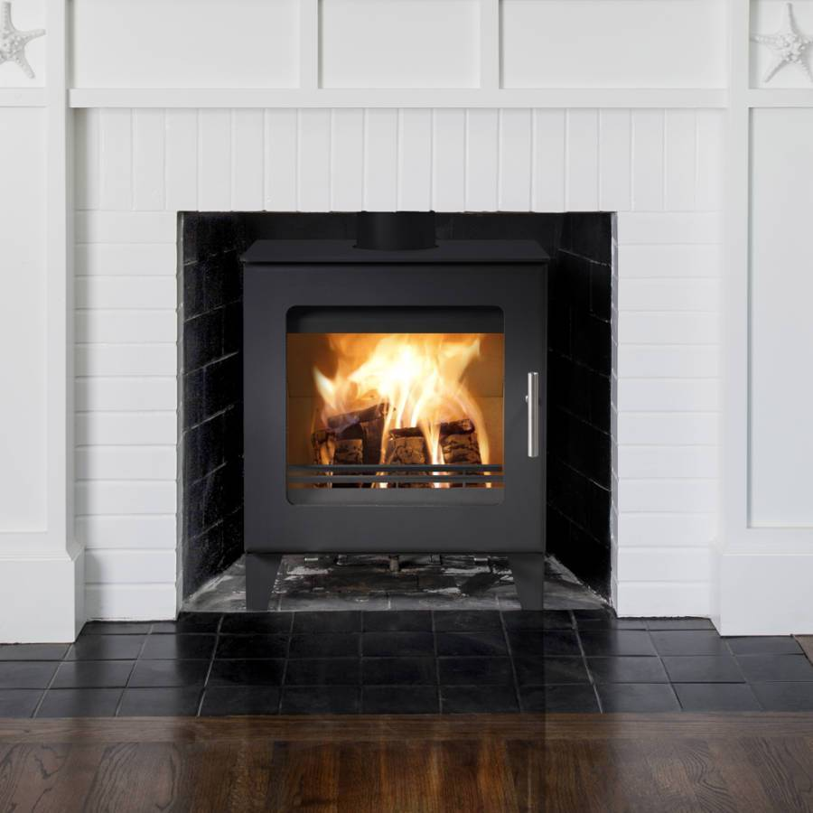 Westfire Uniq 23 100mm Legs Woodburning Stoves RRP - £1289 Now £899.99 - Stoves World Ltd