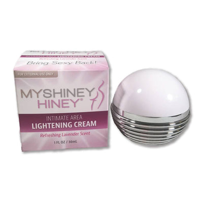 Whitening Cream - My Shiney Hiney Pump Jar Lightening Cream