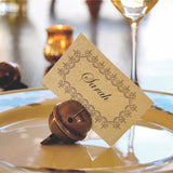 Place Card Holders - Toasting Bells (Set of 4)
