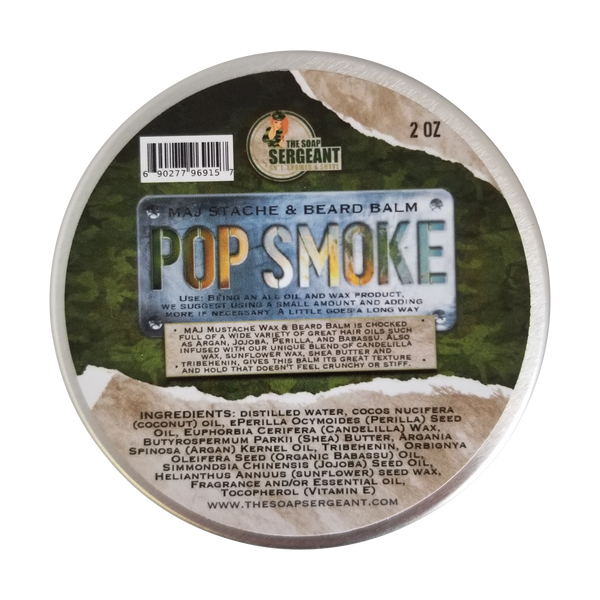 Major Stache & Beard Balm - Pop Smoke