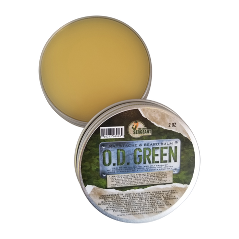 Major Stache & Beard Balm  - O.D. Green