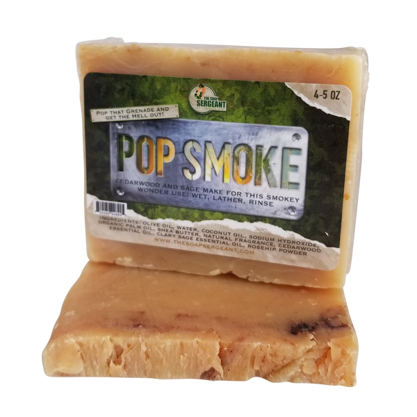 Pop Smoke Handcrafted Soap