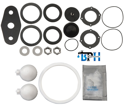 "Febco 2 1/2"" to 3"", 880V RC3 Check Rubber Kit includes parts for both Checks, 905-413"