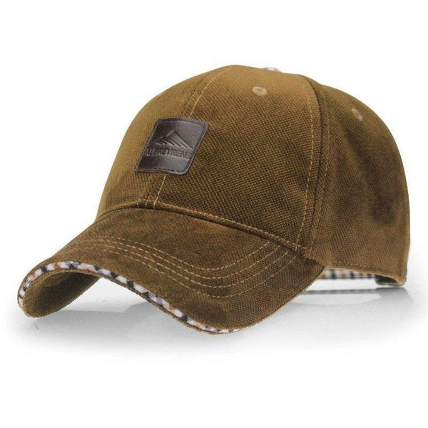 Boné Importado Aetrends Fashion Casquette Polo 4 Cores-Brown - Roupas & Moda