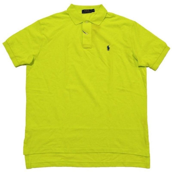 Camisa Polo Ralph Lauren Masculina Classic Fit Amarelo Neon- - Roupas & Moda