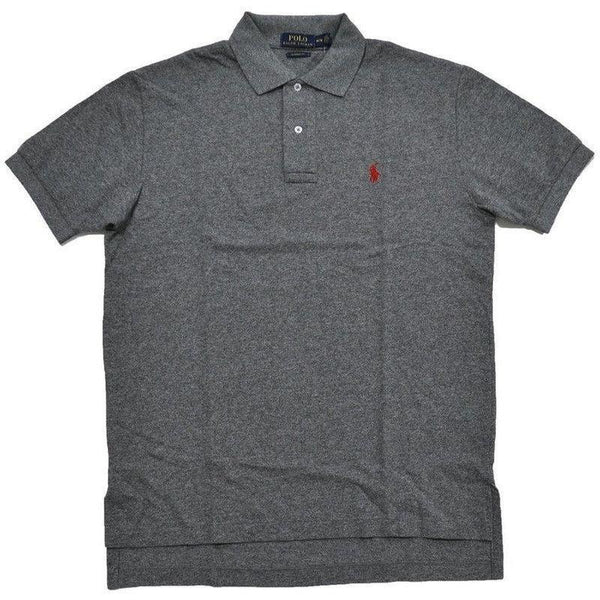 6202cd4c6fe2e Camisa Polo Ralph Lauren Masculina Classic Fit Cinza Heather- - Roupas    Moda