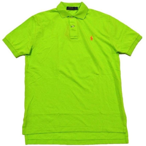 Camisa Polo Ralph Lauren Masculina Classic Fit Verde Neon- - Roupas & Moda