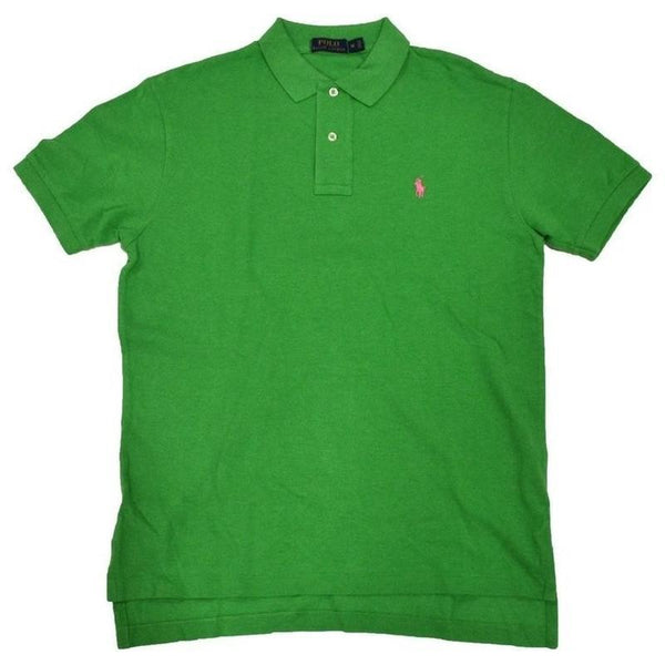 Camisa Polo Ralph Lauren Masculina Classic Verde Lime- - Roupas & Moda