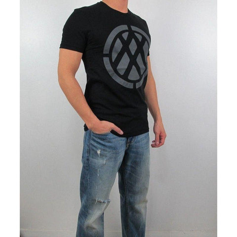 Camiseta Armani Exchange Masculina Black Space Double- - Roupas & Moda