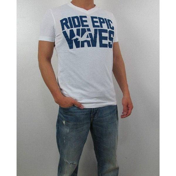 Camiseta Hollister Masculina Original - Branca Epic Waves- - Roupas & Moda