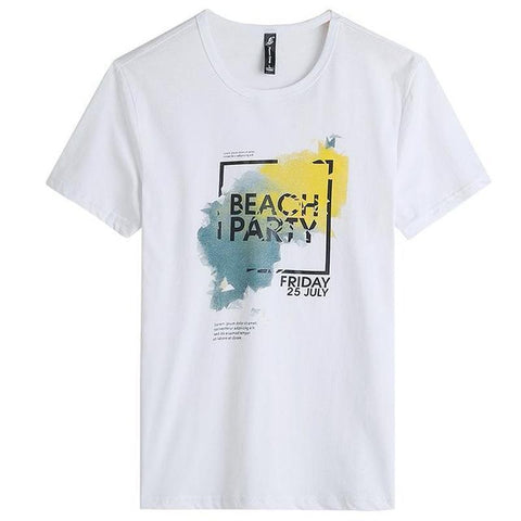 Camiseta Masculina Pioneer Camp Beach Party-White - Roupas & Moda