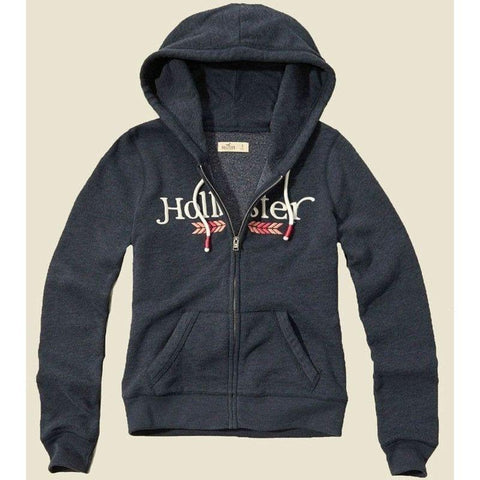 Moletom Hollister Feminino Graphic Navy Arrow-XS - Roupas & Moda