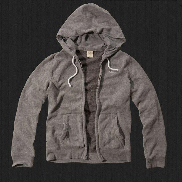 Moletom Hollister Masculino Original - Cinza Mix Brown- - Roupas & Moda