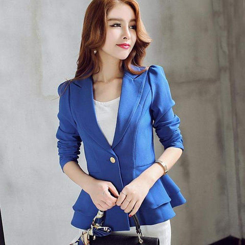 Blazer Feminino Formal Ladies Suit