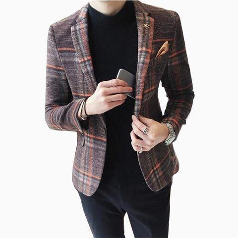 Blazer Masculino Formal Importado Slim Fit Especial