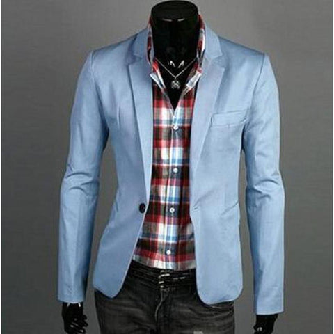 Blazer Fashion Masculino Slim Fit Top Vendas