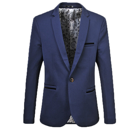 Blazer Masculino Business Men Casual