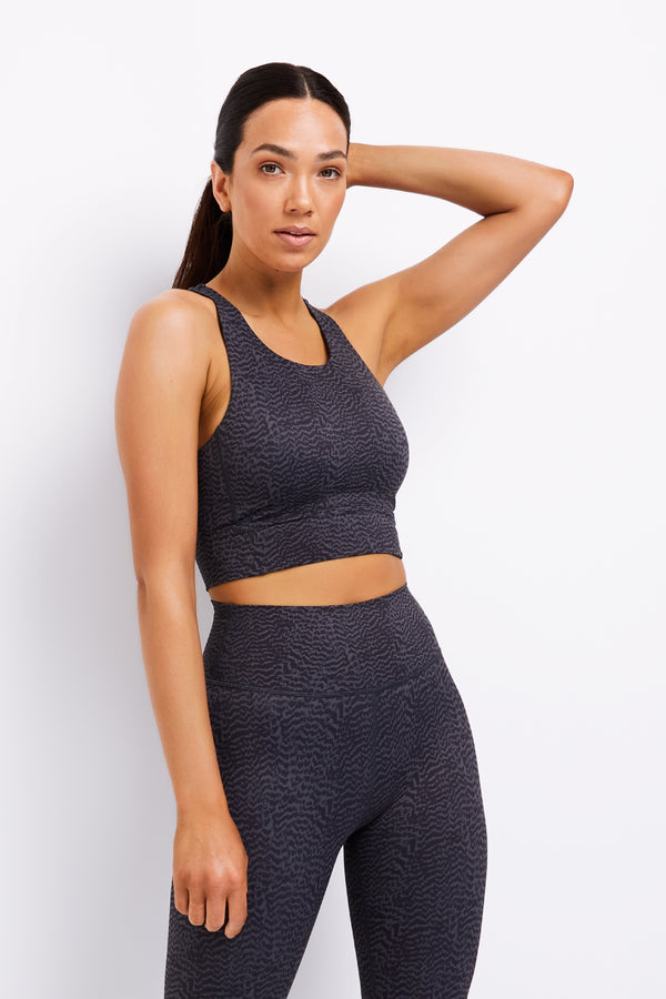 Savannah (Charcoal) Sports Bra