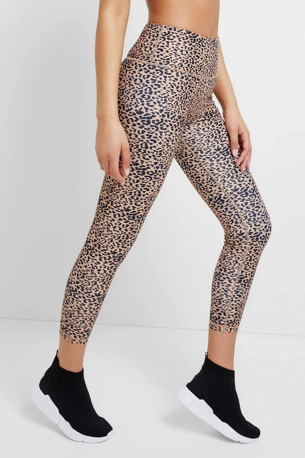 Cheetah Sand 7/8 Legging - All Fenix