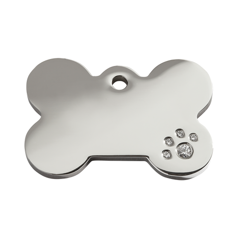 Pet ID Tags - Diamante - Three Humans & A Dog Company  - 5