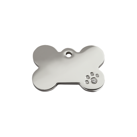 Pet ID Tags - Diamante - Three Humans & A Dog Company  - 6